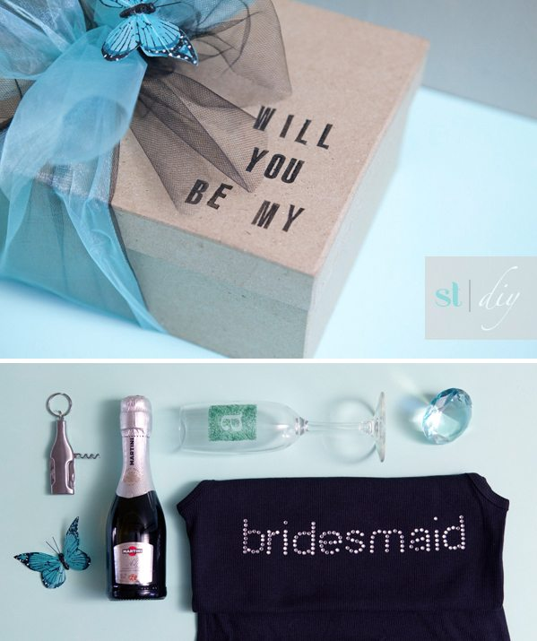 Unique Bridal Party Gifts - Will You Be My Bridesmaid