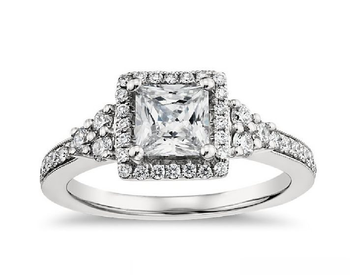 Vintage-inspired engagement rings have an old-fashioned, heirloom ...