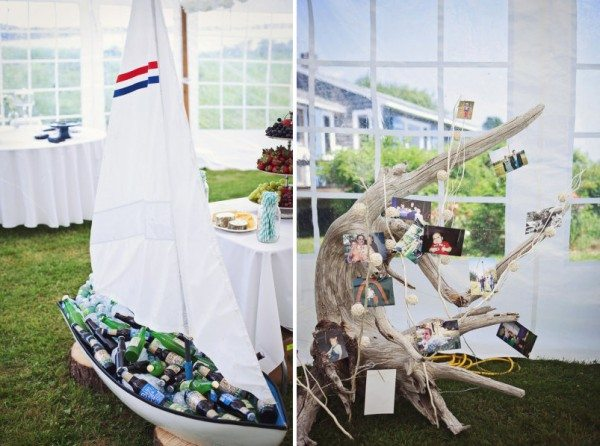 Beach Wedding Ideas: nautical wedding decor