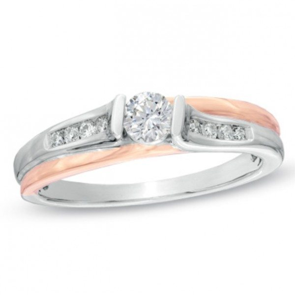 Whimsical Engagement Ring Peoples 2