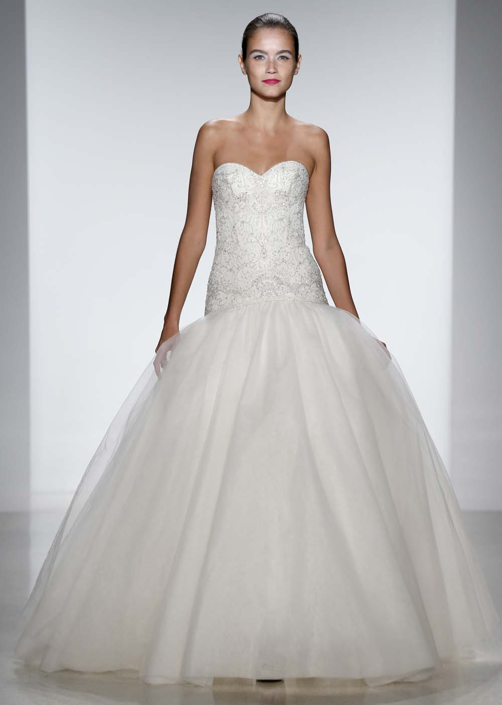 kenneth pool spring 2014 wedding dresses weddingbells