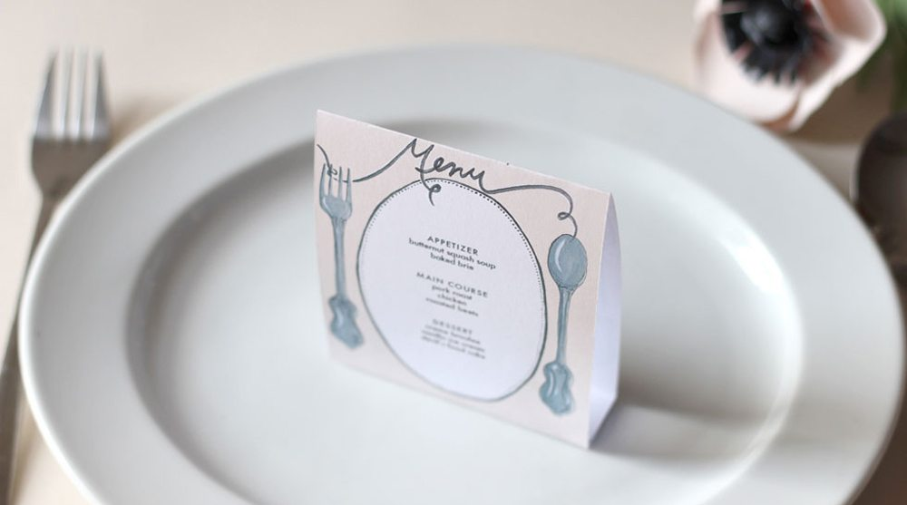 Free Wedding Templates for Table Numbers, Menus, Bouquets and More ...