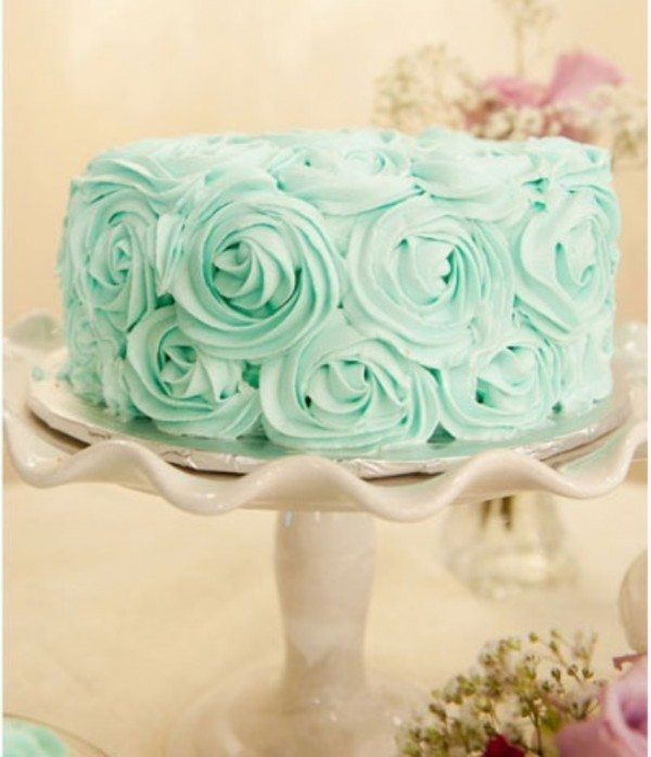 Unique Single Layer Wedding Cakes To Spice Up Your Dessert