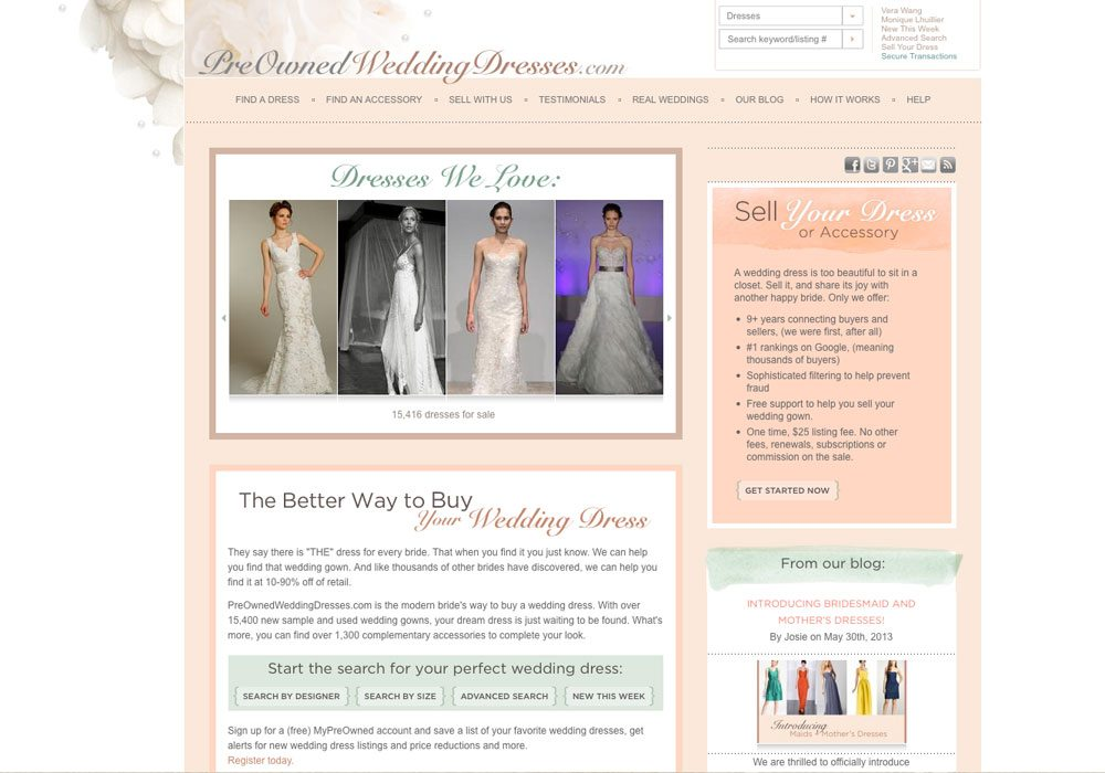 Sell Wedding Dress.The 5 Best Places To Sell Your Wedding Dress Online Weddingbells