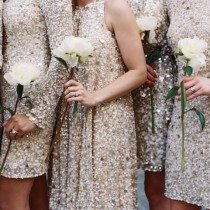 Sequin Bridesmaid Dresses Your Friends Will Adore
