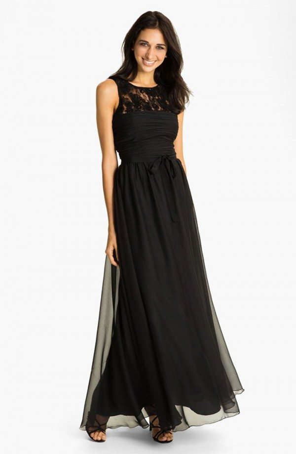 The most beautiful black wedding gowns weddingbells for Nordstrom wedding bridesmaid dresses