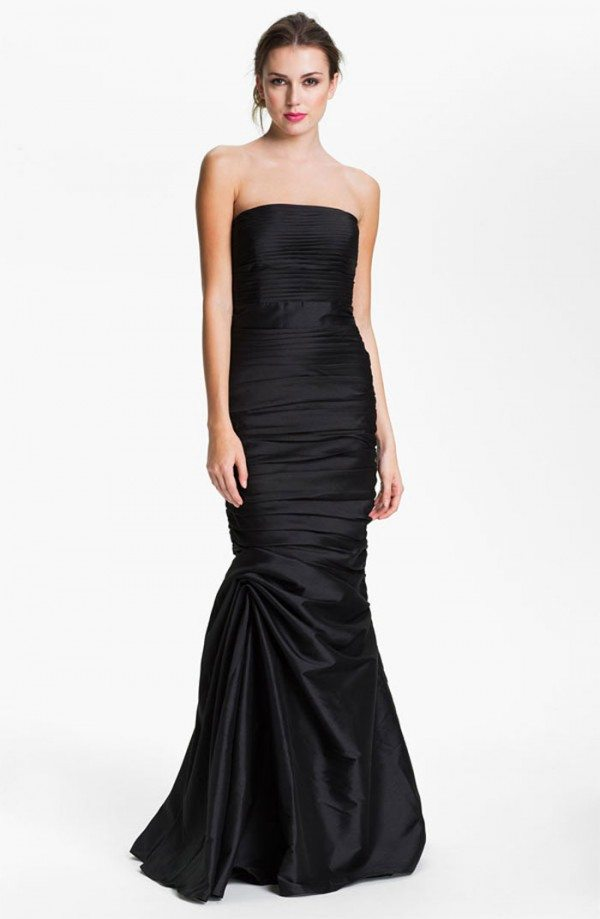 Black wedding gown ml monique lhuillier weddingbells for Nordstrom wedding bridesmaid dresses