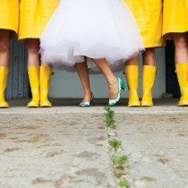 12 Cool Ways To Embrace A Rainy Wedding Day Forecast