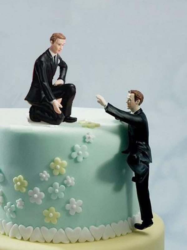 Want you interracial bride and groom wedding cake topper like
