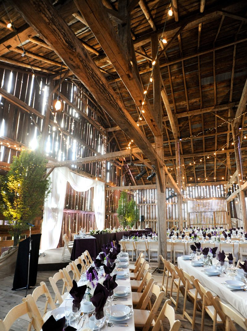 Barn Wedding Venues In Canada