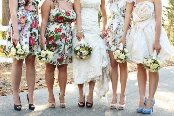 Trend Alert: Patterned Bridesmaid Dresses  Weddingbells