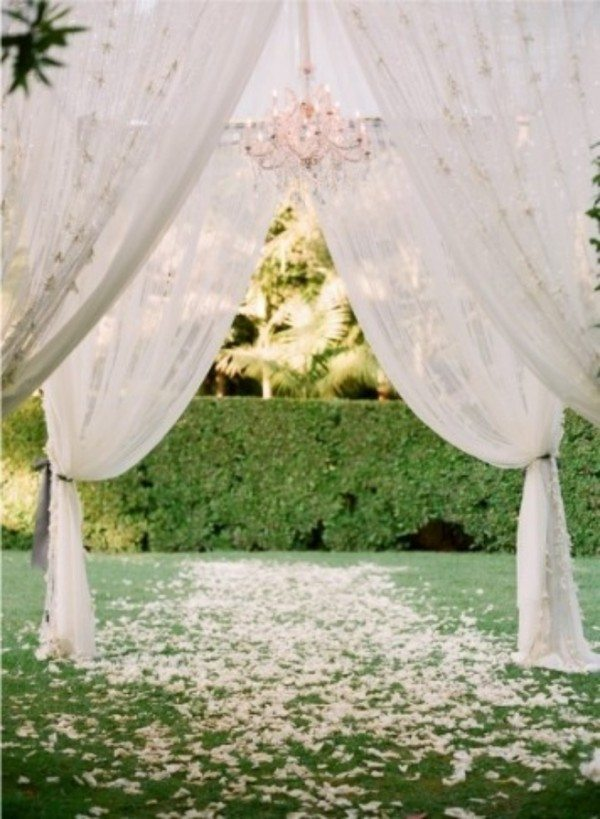 Eye Catching Wedding Arbor Ideas