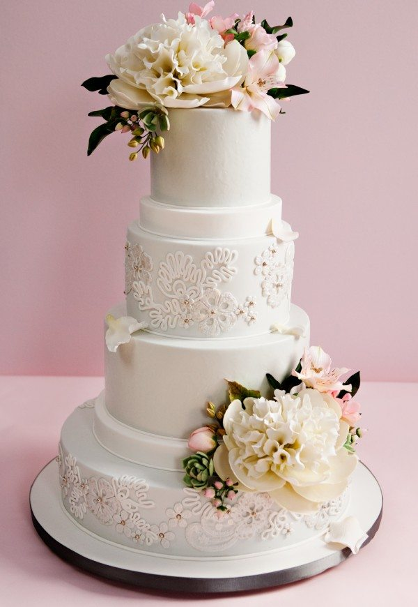 Elegant Wedding Cake Design : Canada s Prettiest Wedding Cakes For 2013 Weddingbells