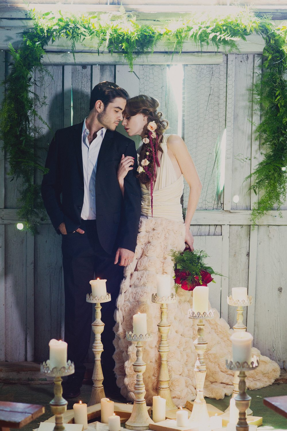 A Romantic Romeo And Juliet Themed Wedding Shoot