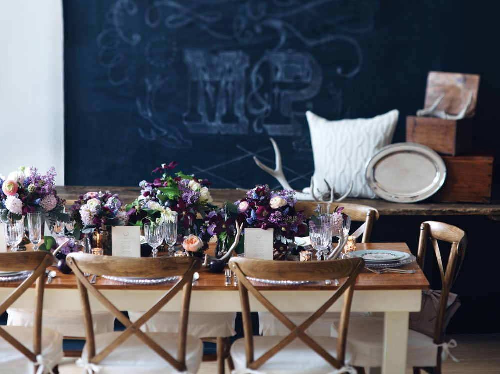 Everything You Need For A Stunning Rustic-Chic Wedding Reception ...