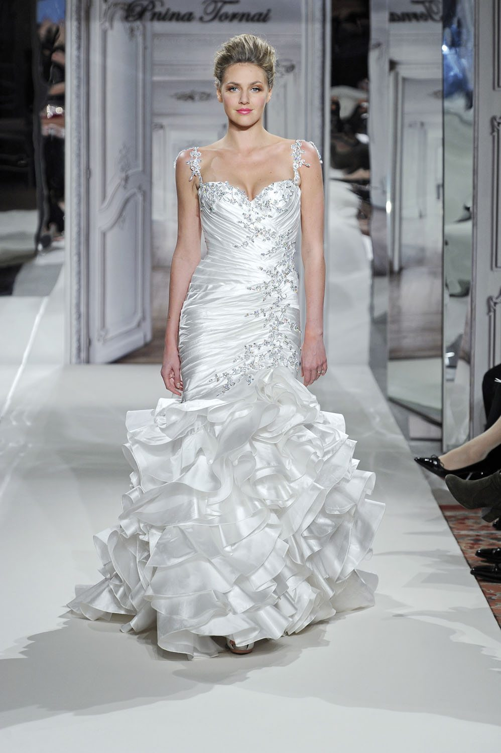 Pnina tornai for kleinfeld 2014 wedding dresses weddingbells junglespirit Choice Image