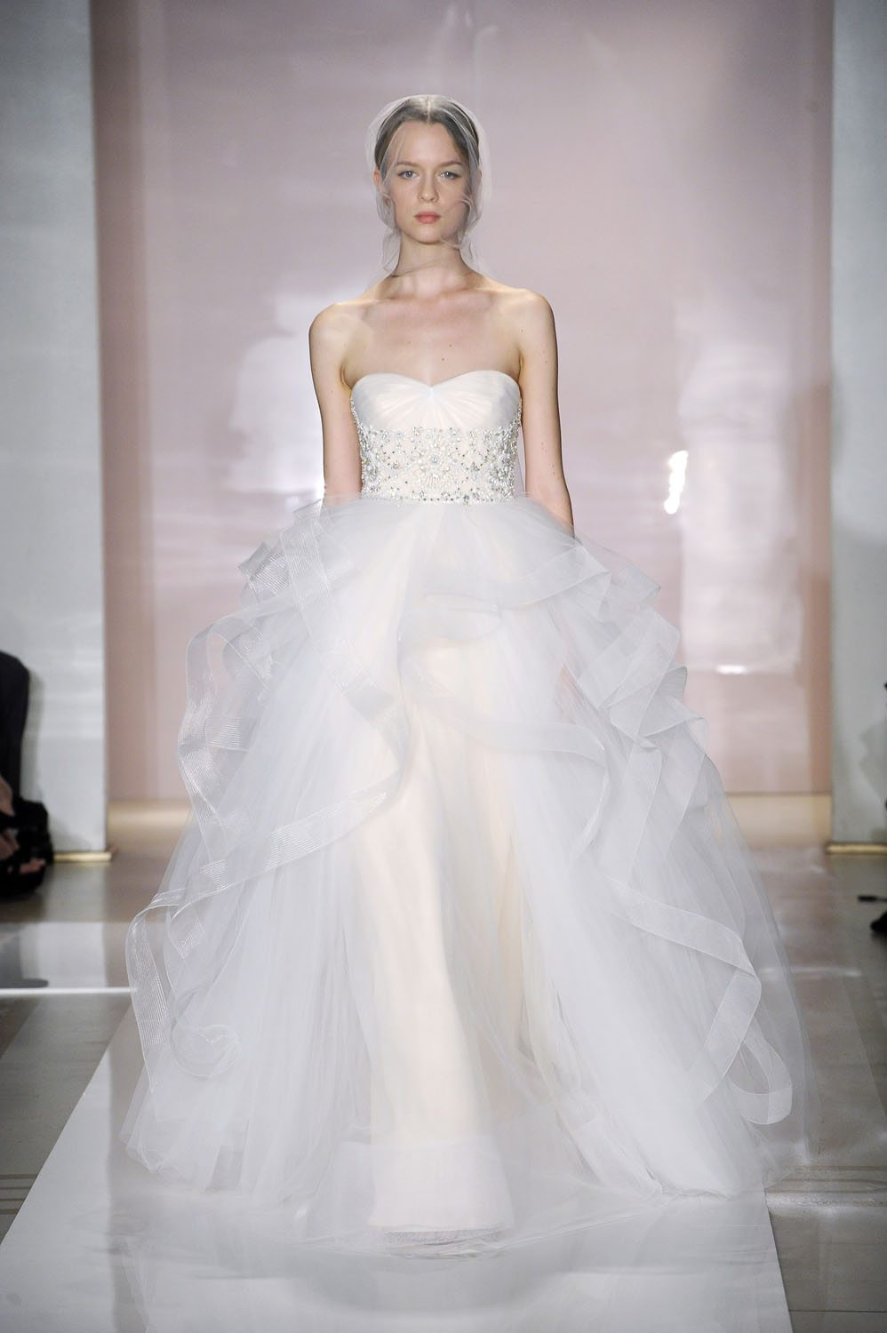 Reem Acra Fall 2014 Wedding Dresses Reem Acra Fall Wedding
