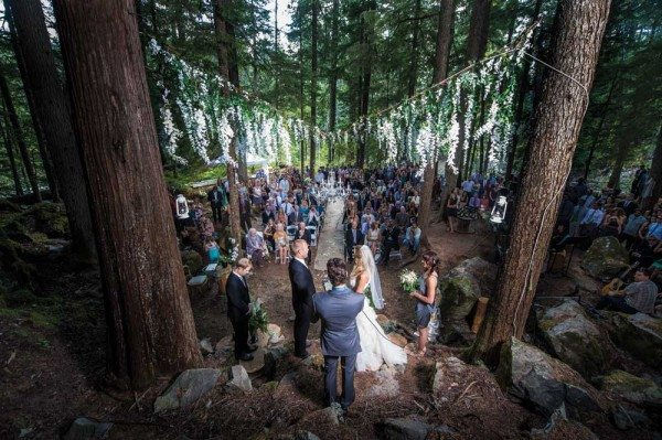 An Enchanted Forest Wedding In Whistler Weddingbells