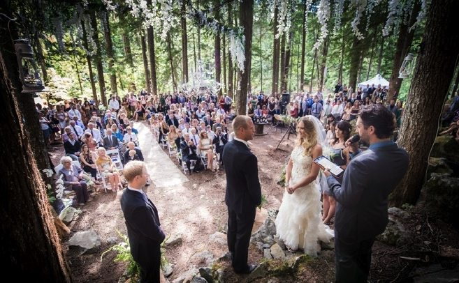 An Enchanted Forest Wedding In Whistler