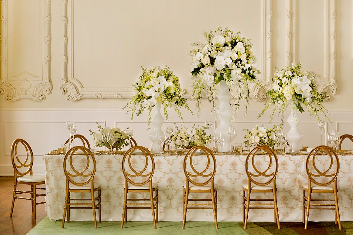 Gorgeous New Design Ideas For Elegant Wedding Receptions