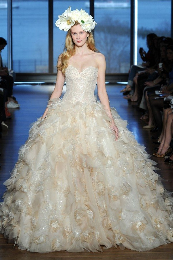 fancy wedding gown trends 2015 adornment wedding dress ideas