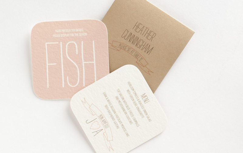 Chicken, Beef Or Fish? 5 Cool Ways To Display Your Guests' Wedding ...
