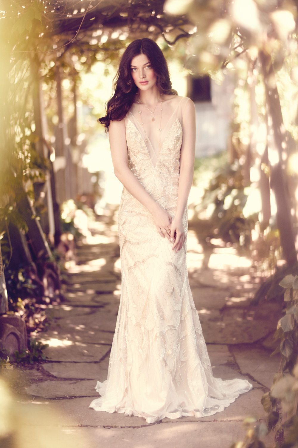 Ethereal Bridal Gowns For The Ultimate Boho Wedding | Weddingbells