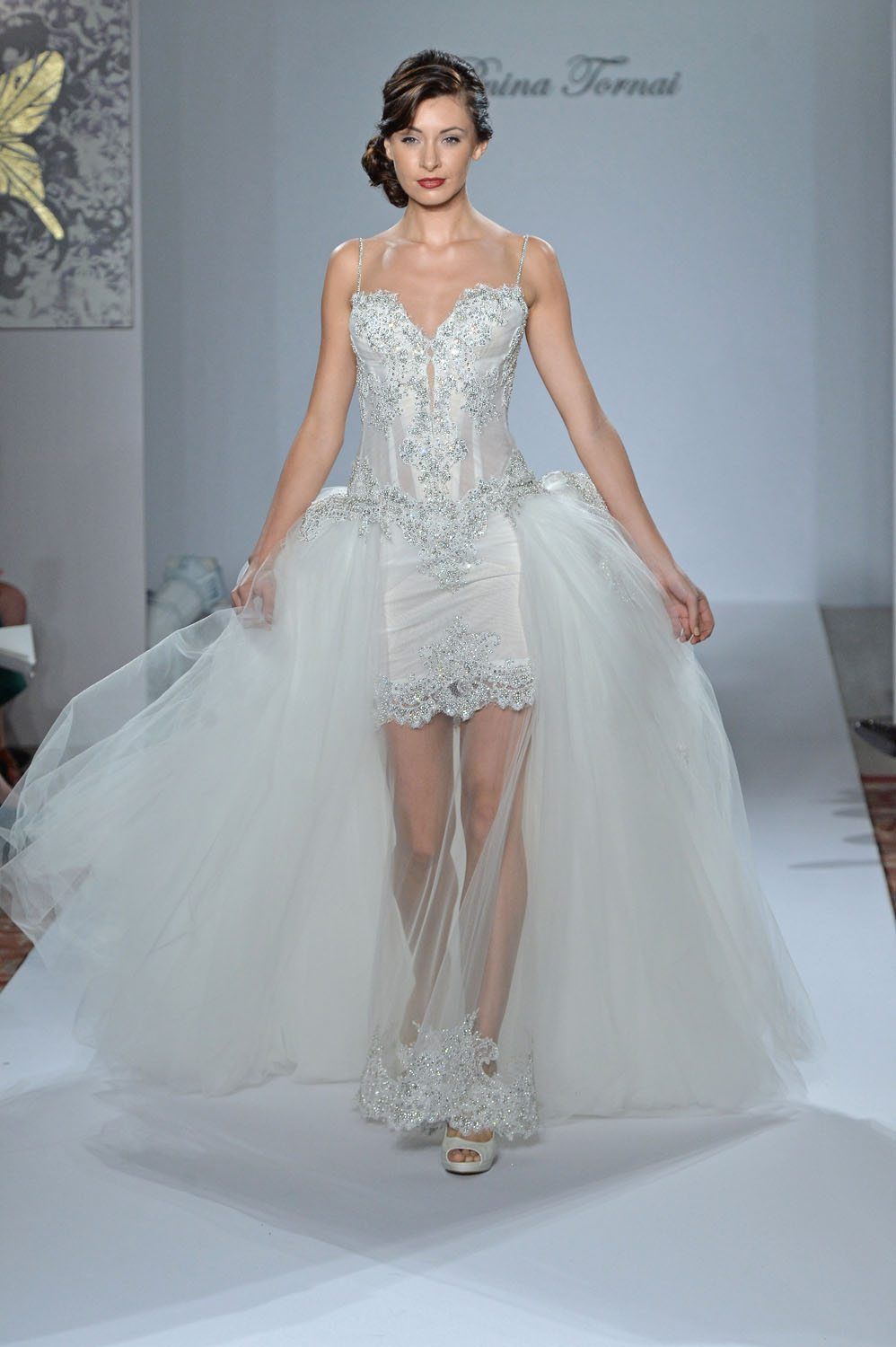 Perfect Wedding Gowns By Pnina Tornai Motif - All Wedding Dresses ...