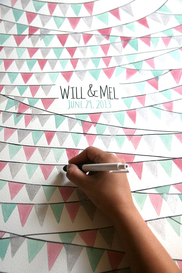 10 NeverBeforeSeen Guest Book Ideas Weddingbells