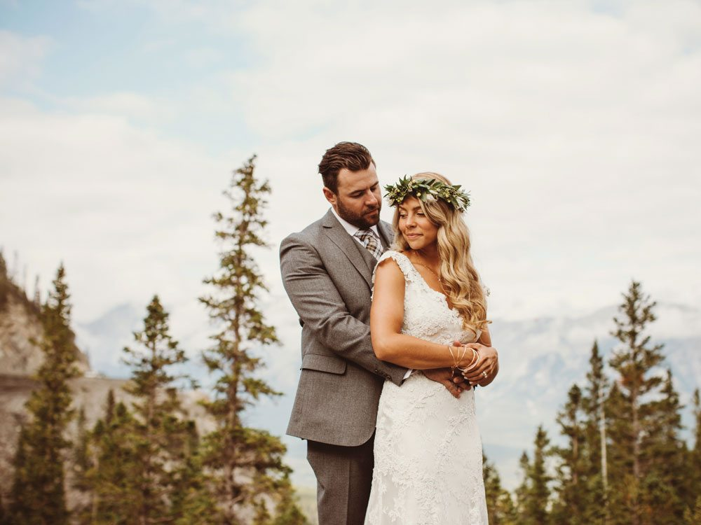 Calgary Wedding Bride And Groom