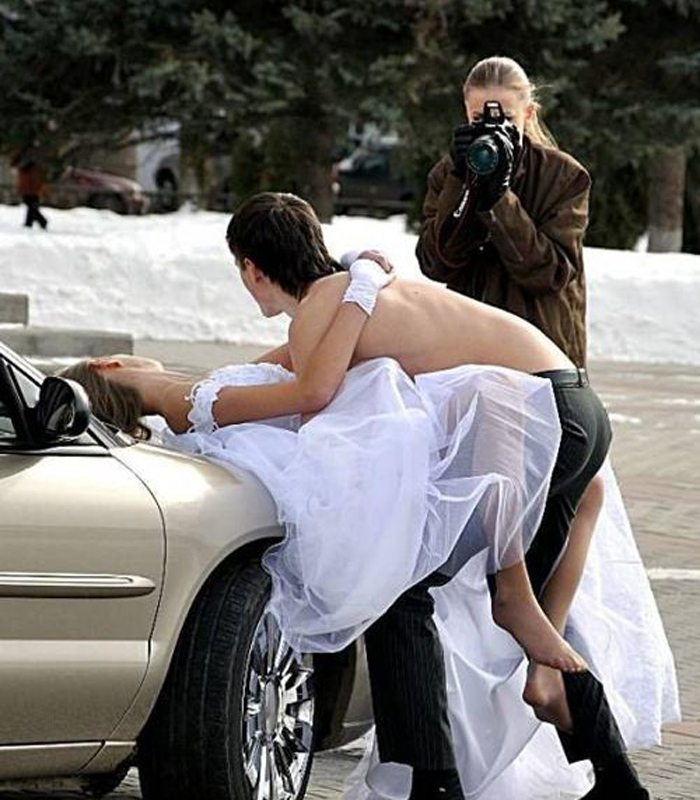 Bilderesultat for worst wedding photos