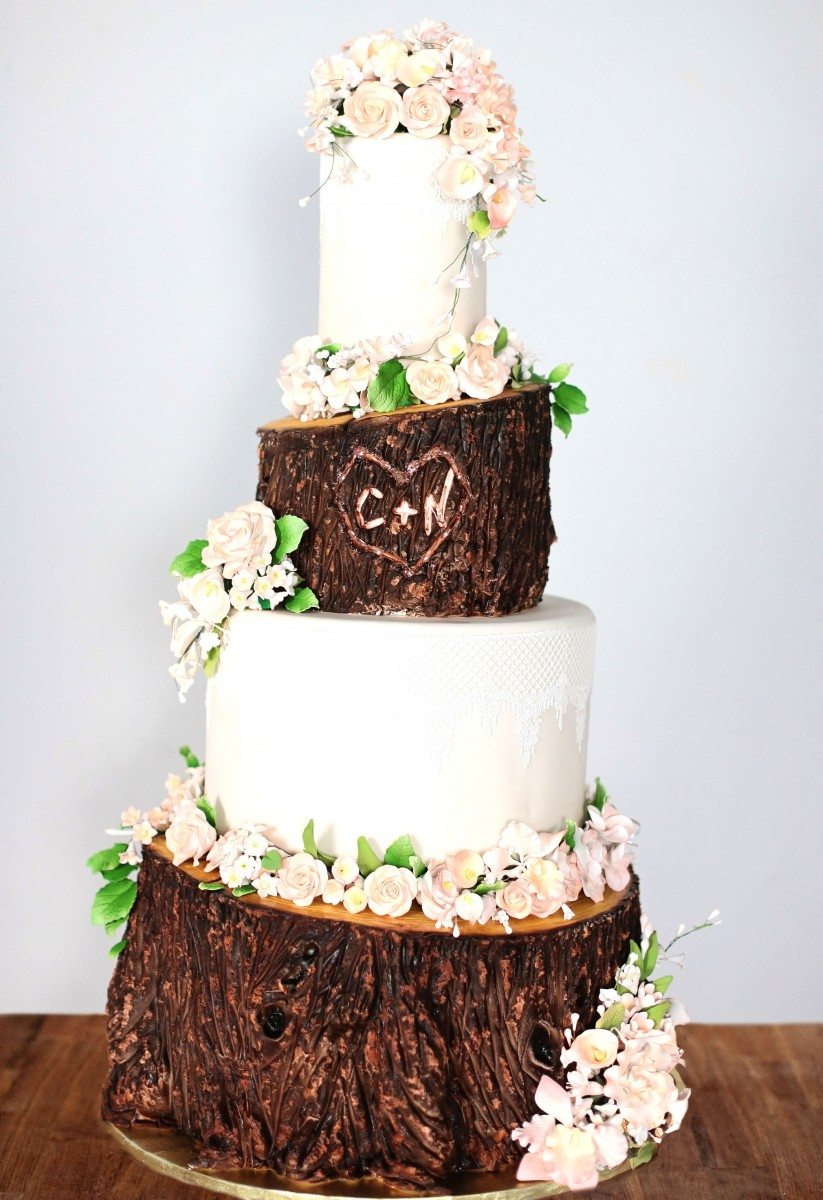 Canada\'s Prettiest Wedding Cakes For 2015 | Weddingbells