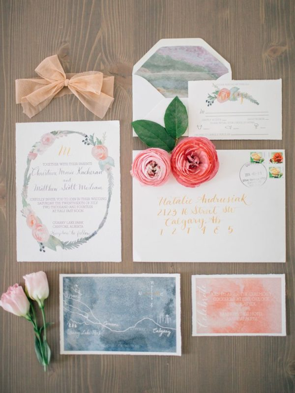 29 Canadian Wedding Stationery Companies You Need To Know About ...