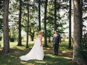 A Dreamy, Whimsical Wedding in Caledon, Ontario - First Look