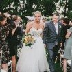 A Dreamy, Whimsical Wedding in Caledon, Ontario - Bride and Groom Leaving Ceremony