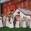 A Dreamy, Whimsical Wedding in Caledon, Ontario - Bride and Groom and Wedding Party