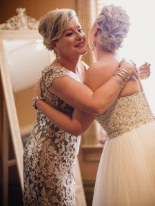 A Dreamy, Whimsical Wedding in Caledon, Ontario - Bride and Mother