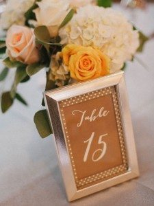 A Dreamy, Whimsical Wedding in Caledon, Ontario - Table Number and Flowers