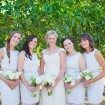 A Lovely Rustic Barn Wedding in British Columbia - Bride and Bridesmaids