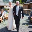 A Lovely Rustic Barn Wedding in British Columbia - Bride and Father