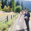 A Lovely Rustic Barn Wedding in British Columbia - Bride and Groom