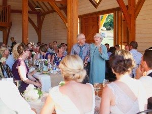 A Lovely Rustic Barn Wedding in British Columbia - Grandparents