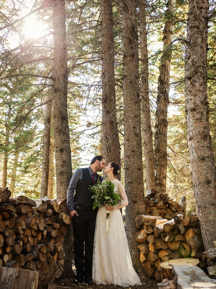 A Rustic Nature Inspired Wedding In Blairmore Alberta