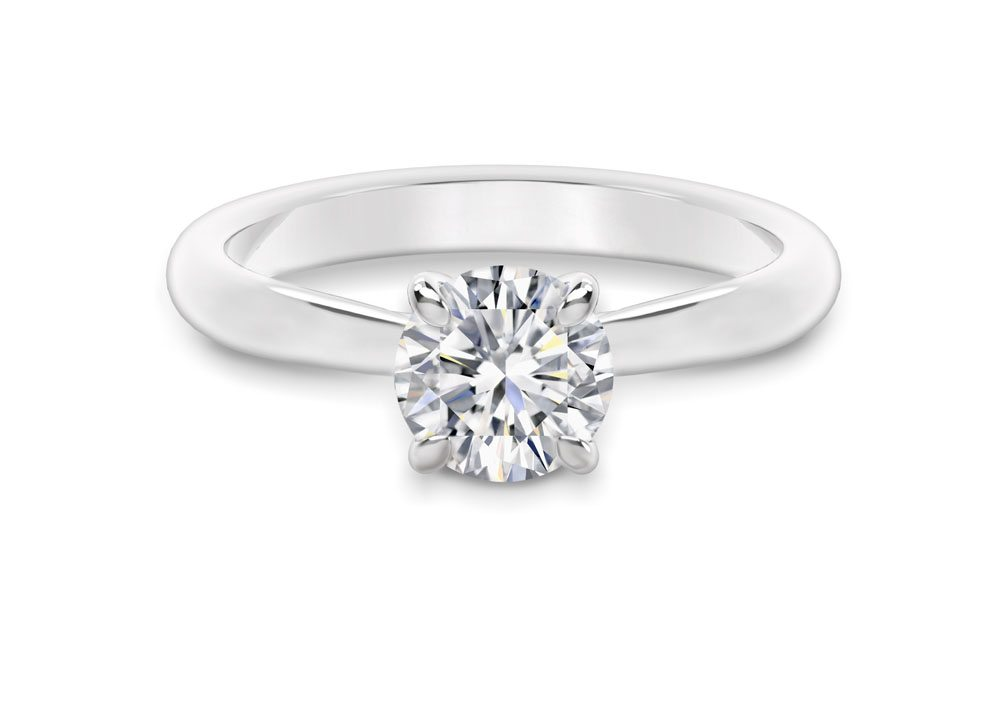 simple rings engagement beautiful and girlyard