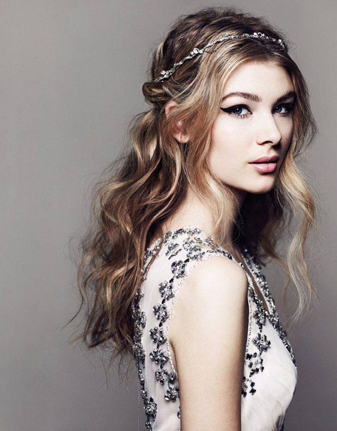 The Hottest Bridal Hair Trends for 2016 - Wavy