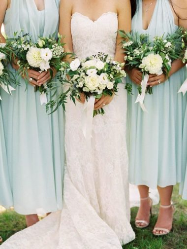 A Classic, Elegant Wedding in King City - Bride and Bridesmaids