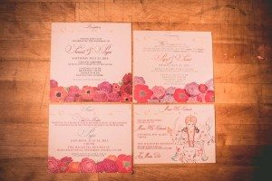 A Colourful and Glamorous Indian Wedding - Stationery