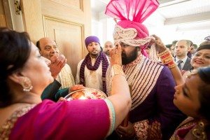 A Colourful and Glamorous Indian Wedding - Groom Getting Ready