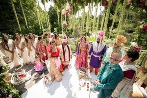 A Colourful and Glamorous Indian Wedding - Ceremony