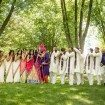 A Colourful and Glamorous Indian Wedding - Bridal Party